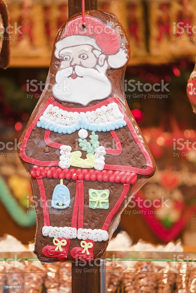 Santa Gingerbread stock photo
