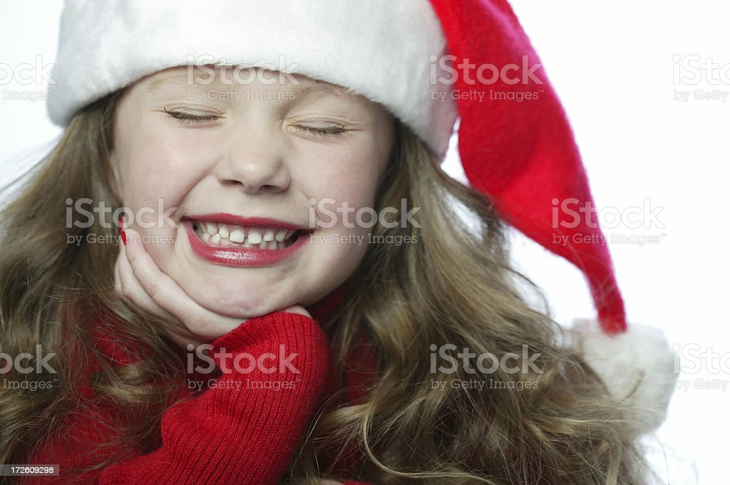 Santa Girl 0024 royalty-free stock photo