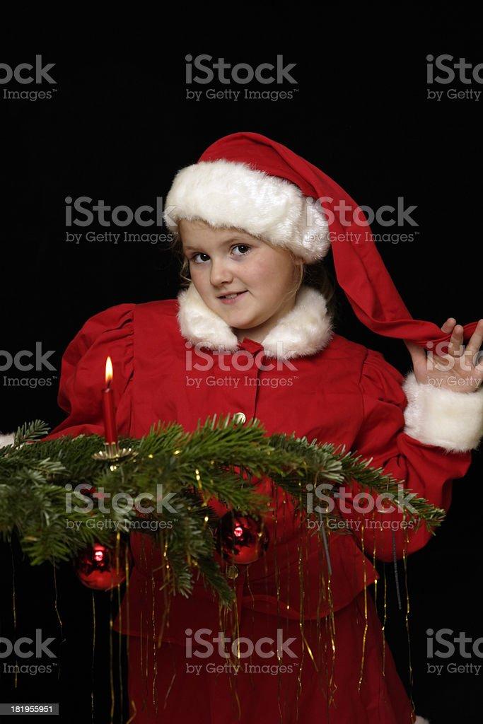 Santa Mädchen 02 – Foto