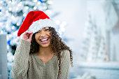 istock Santa Girl 1011407730
