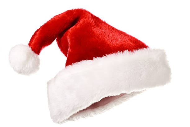 Santa hat isolated on white Santa's red hat isolated on white santa hat stock pictures, royalty-free photos & images