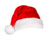 istock Santa Hat (on white) 182895727