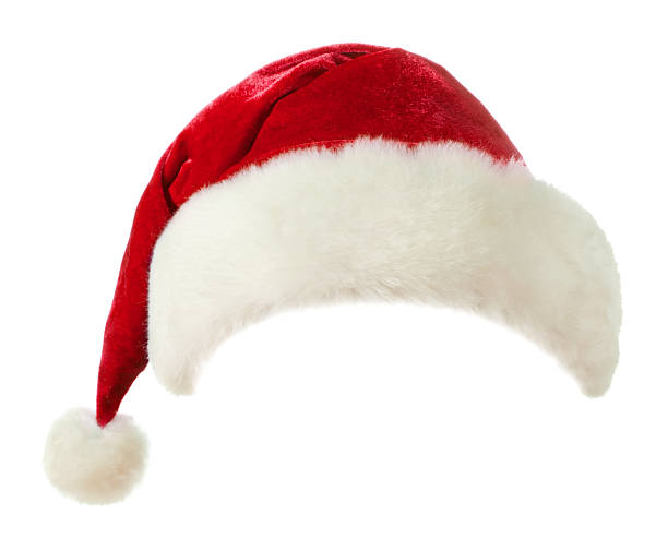 Santa hat Santa hat isolated on white background religious saint stock pictures, royalty-free photos & images