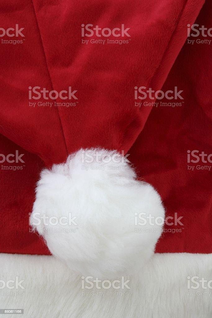 Czapka Świętego Mikołaja zbiór zdjęć royalty-free