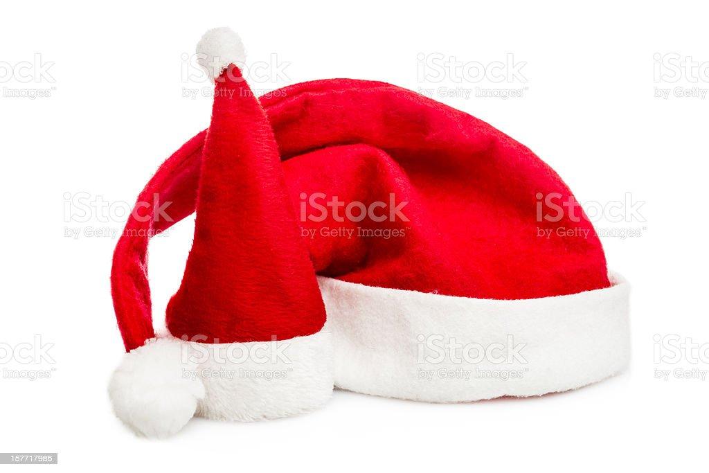 Santa Hats royalty-free stock photo