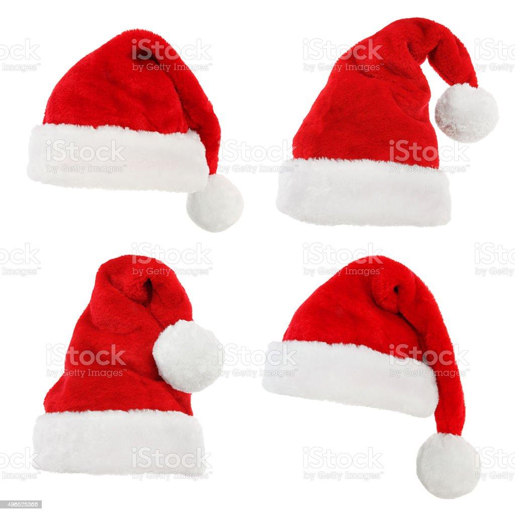 Santa Hats stock photo