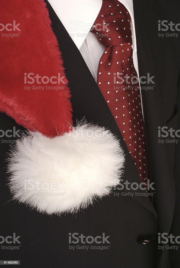 Santa Inc. royalty-free stock photo