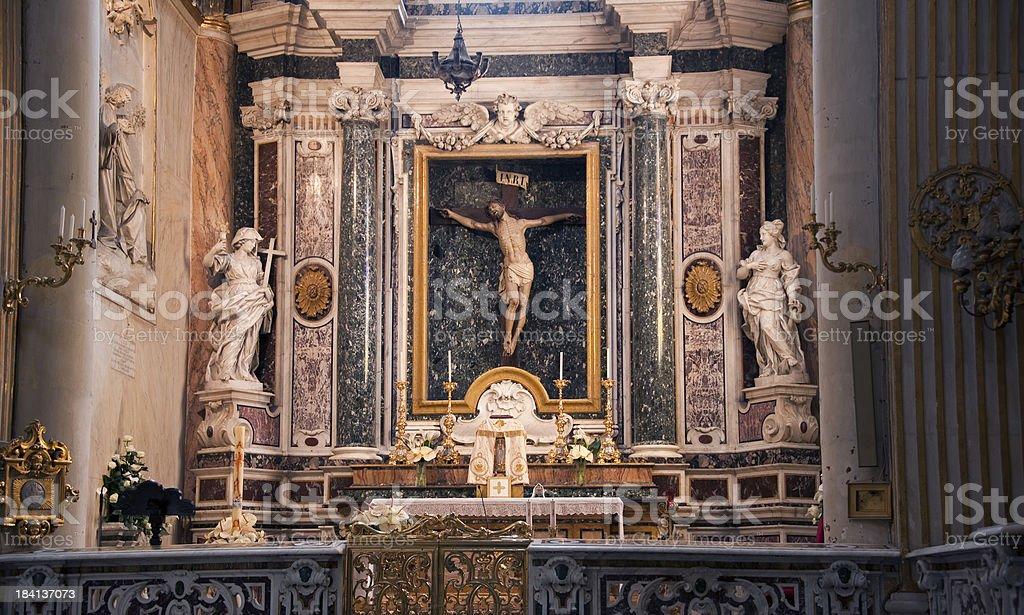 Chiesa Cattolica Santa Irene, Lecce, Apulia stock photo