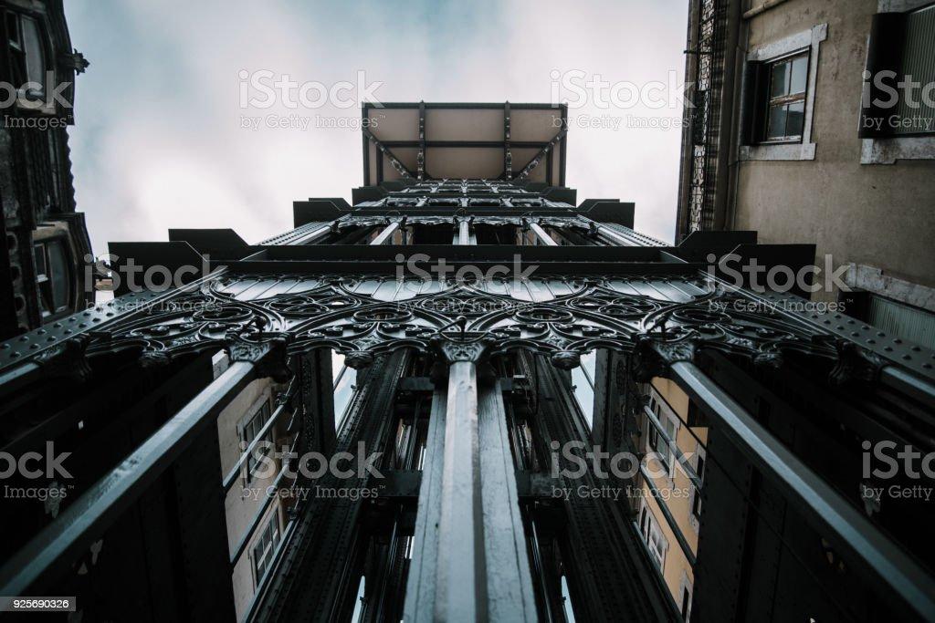 Ascensor de Santa Justa, Lisboa - foto de stock