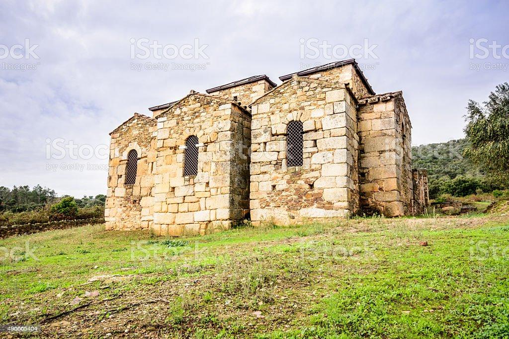 Santa Lucia del Trampal stock photo