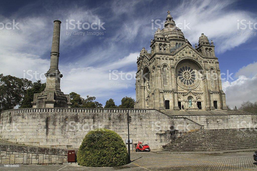 Santa Luzia Cathedral stock photo