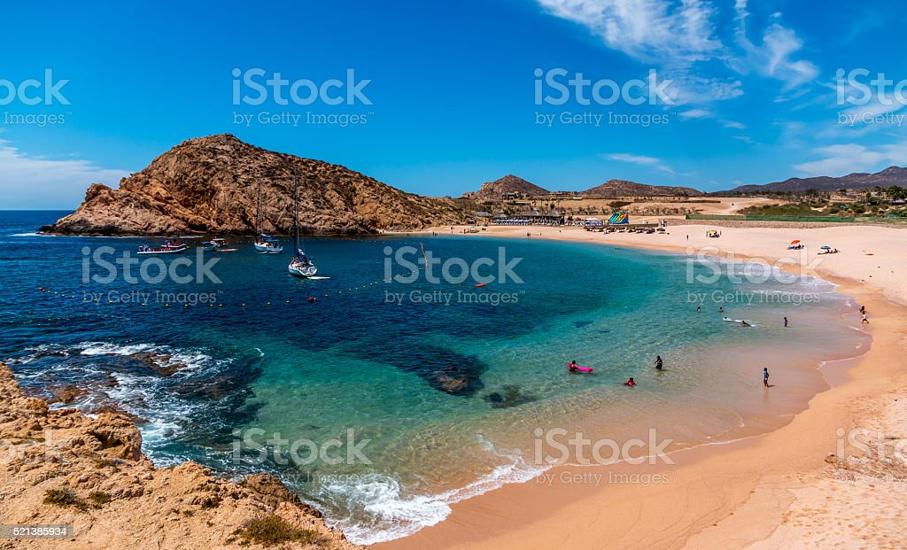 Santa Maria Beach, Mexico stock photo