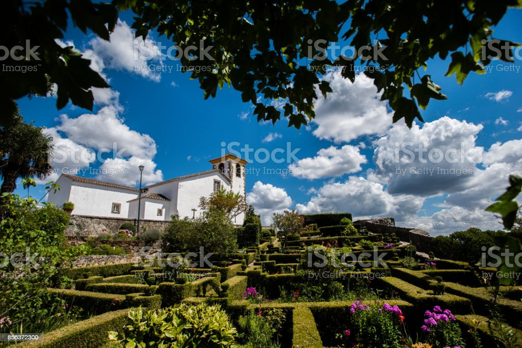 Kirche Santa Maria in Marvao, portugal – Foto