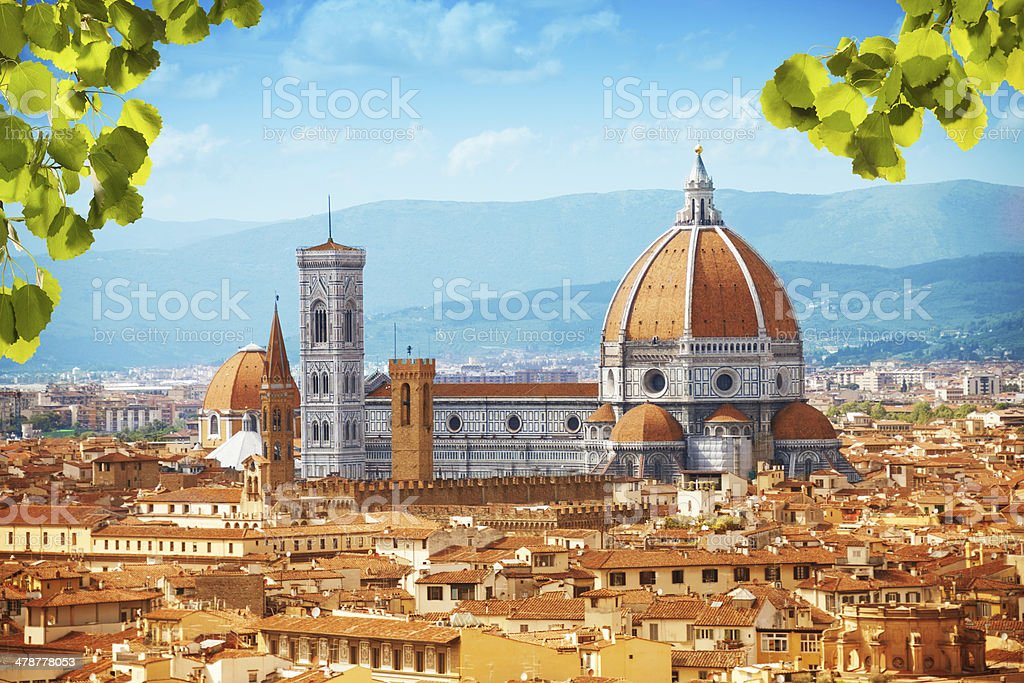Basilica di Santa Maria del Fiore stock photo
