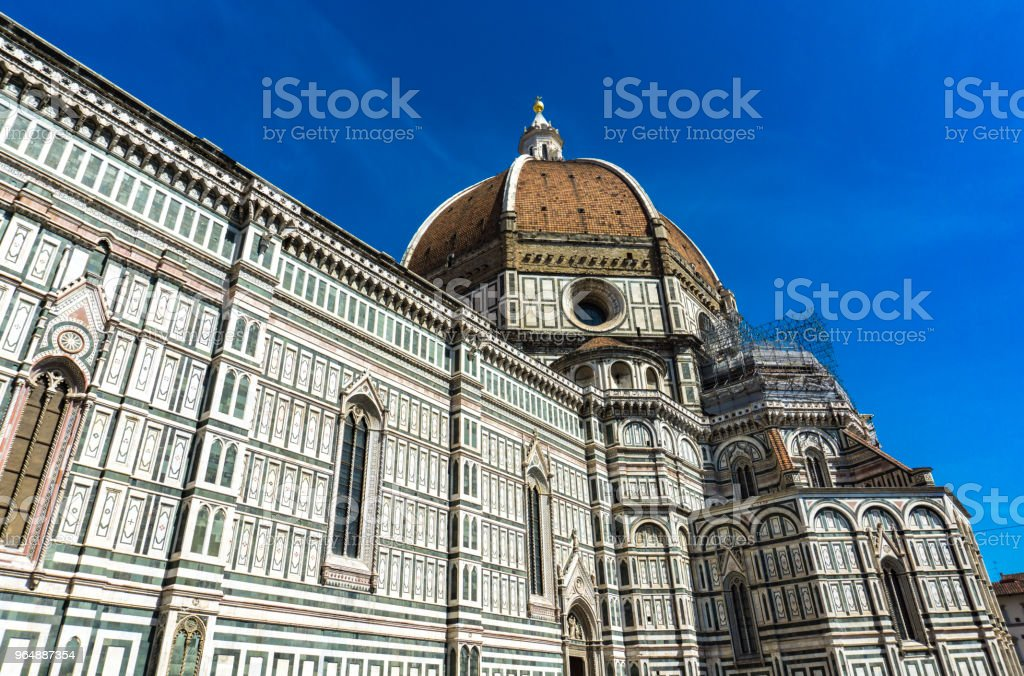 Santa Maria del Fiore catedral in Florence, Italy royalty-free stock photo