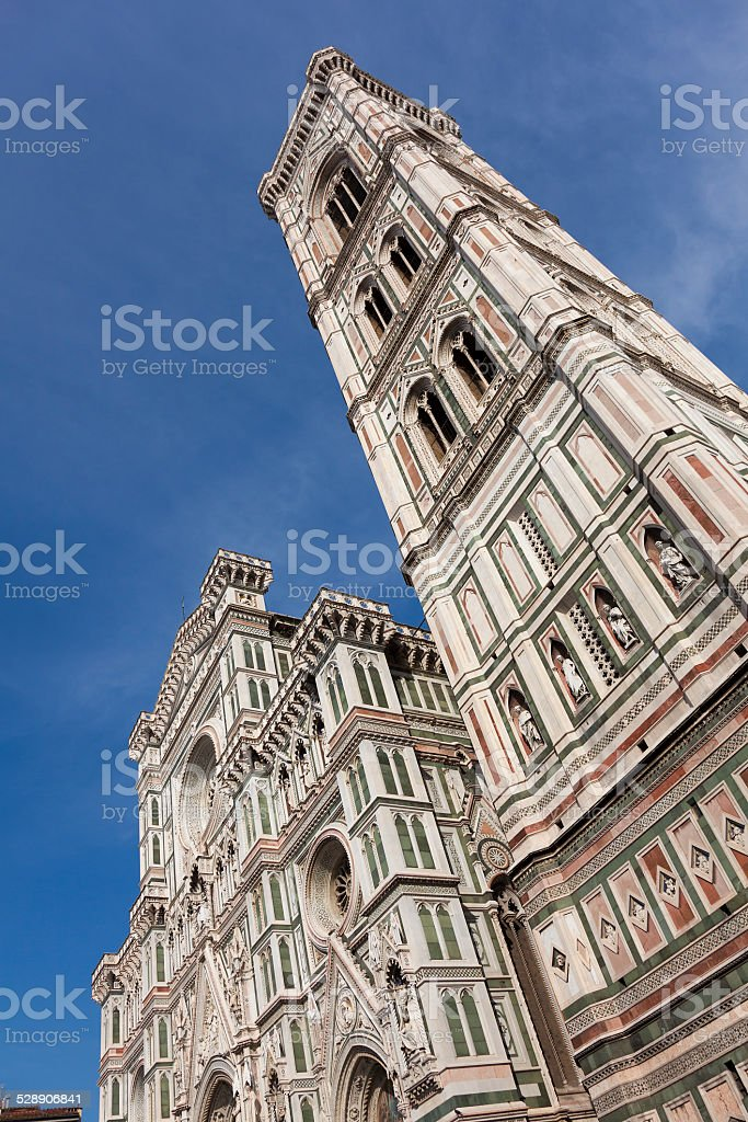 Santa Maria del Fiore cathedral, Florence stock photo