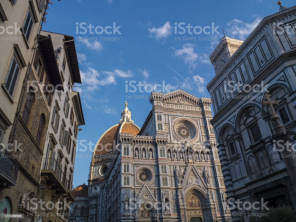 Santa Maria del Fiore  Cathedral of Florence, Italy royalty-free stock photo