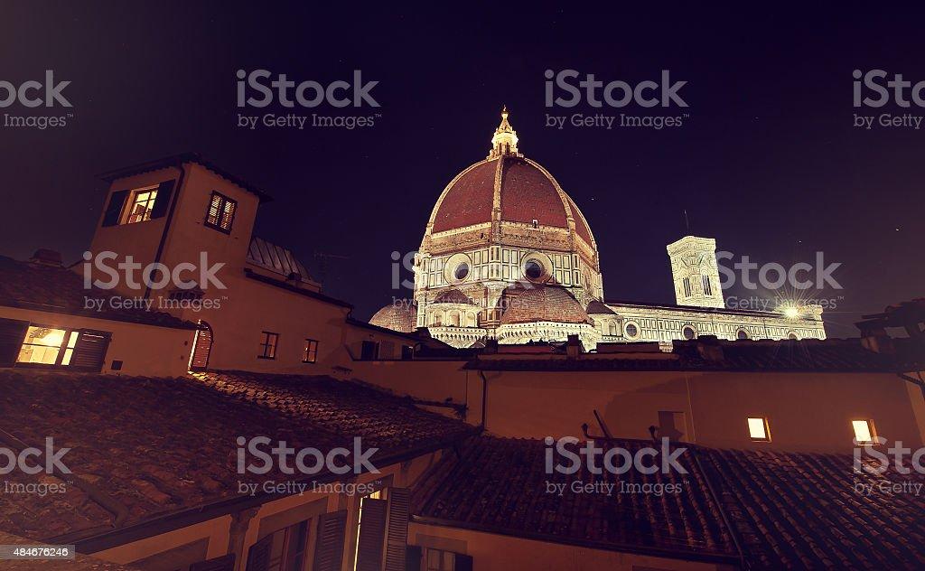 Santa Maria del Fiore , Firenze, Italia stock photo
