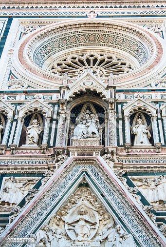 Santa Maria del Fiore in Florence, Tuscany, Italy. 24.02.2014