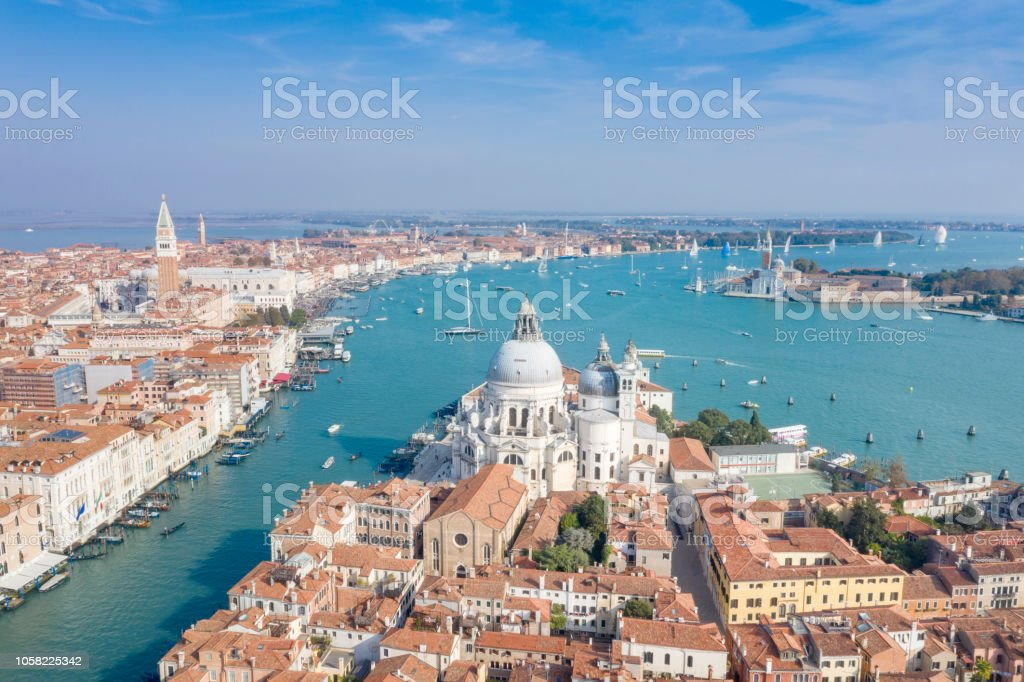 Santa Maria della Salute, Basilica di San Marco, Venedig, Italien – Foto