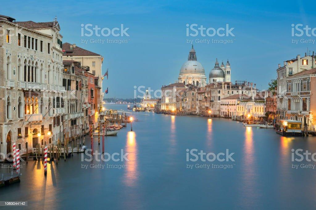 Santa Maria della Salute, Canal Grande, Venedig, Italien – Foto