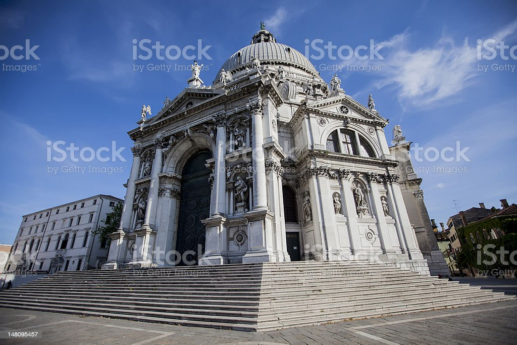 Santa Maria della Salute in Venice, Italy royalty-free stock photo