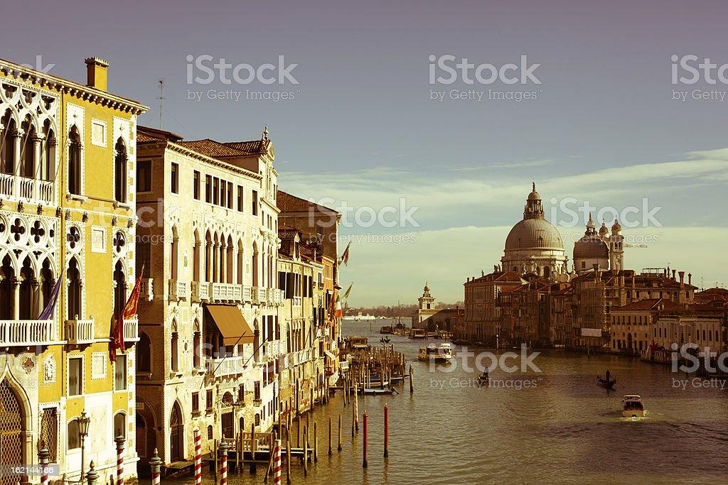 Santa Maria della Salute stock photo