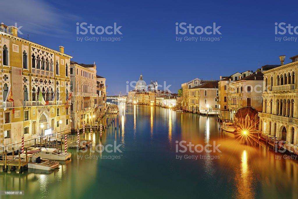 Santa Maria della Salute (Venezia) stock photo
