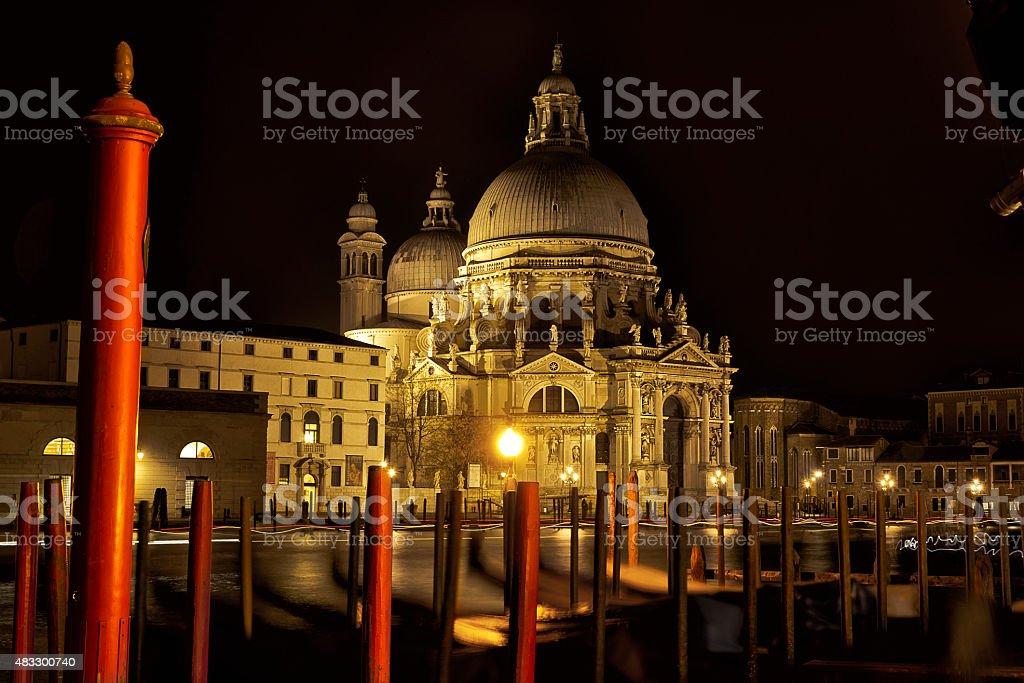 Santa Maria della Salute royalty-free stock photo