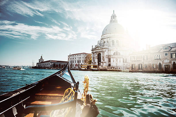 santa maria della salute - della stock pictures, royalty-free photos & images