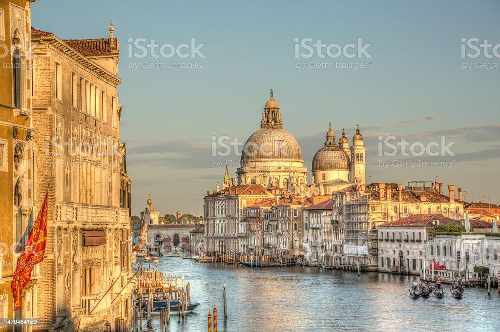 Santa Maria della Salute, Venice, Italy stock photo