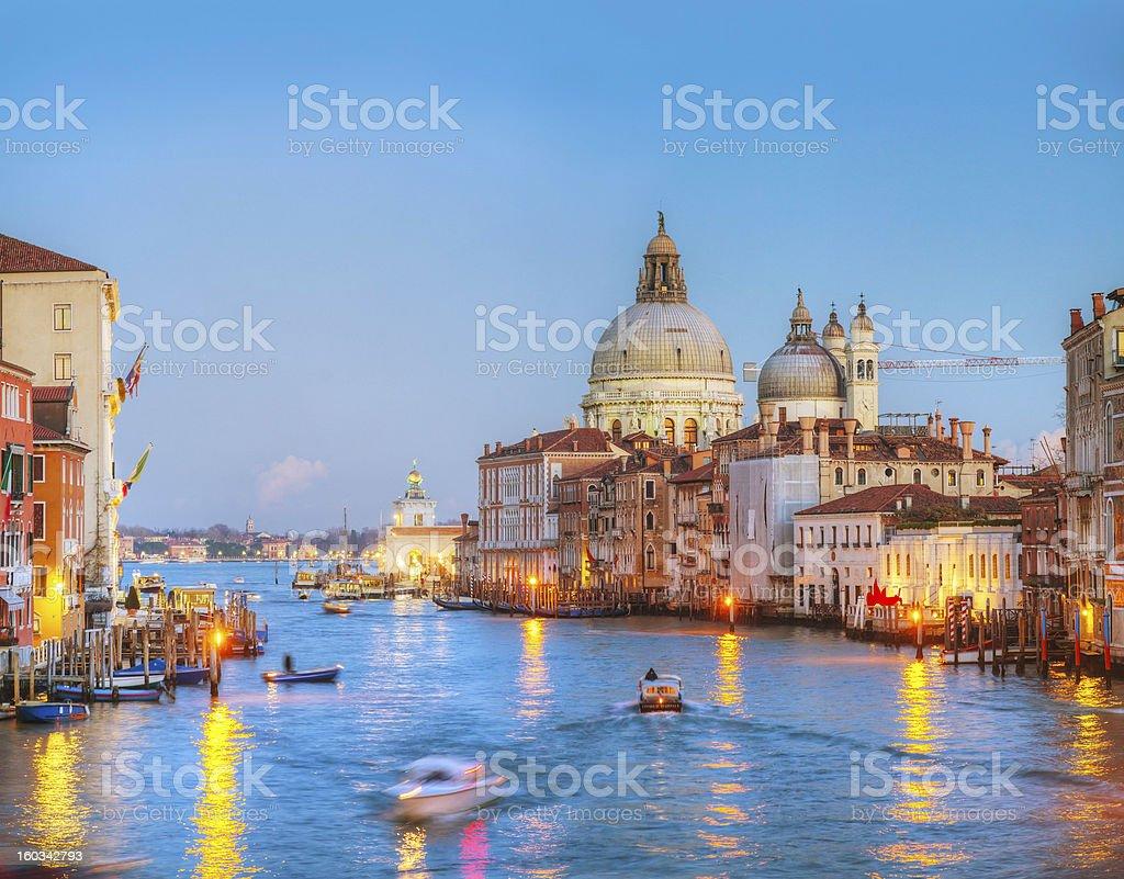 Basilica Di Santa Maria della Salute in Venice royalty-free stock photo