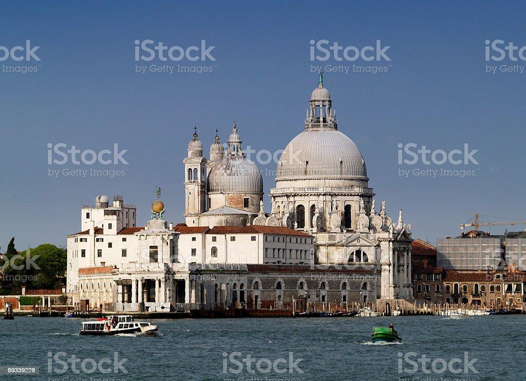 Santa Maria Della Salute, Venice royalty-free stock photo