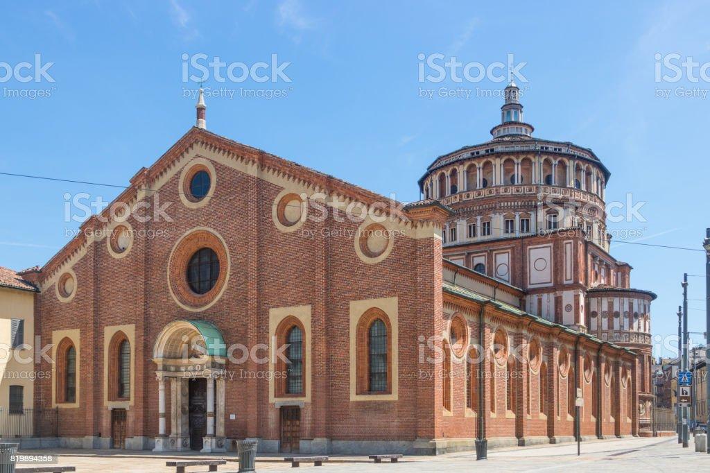 Santa Maria Delle Grazie, Italien – Foto