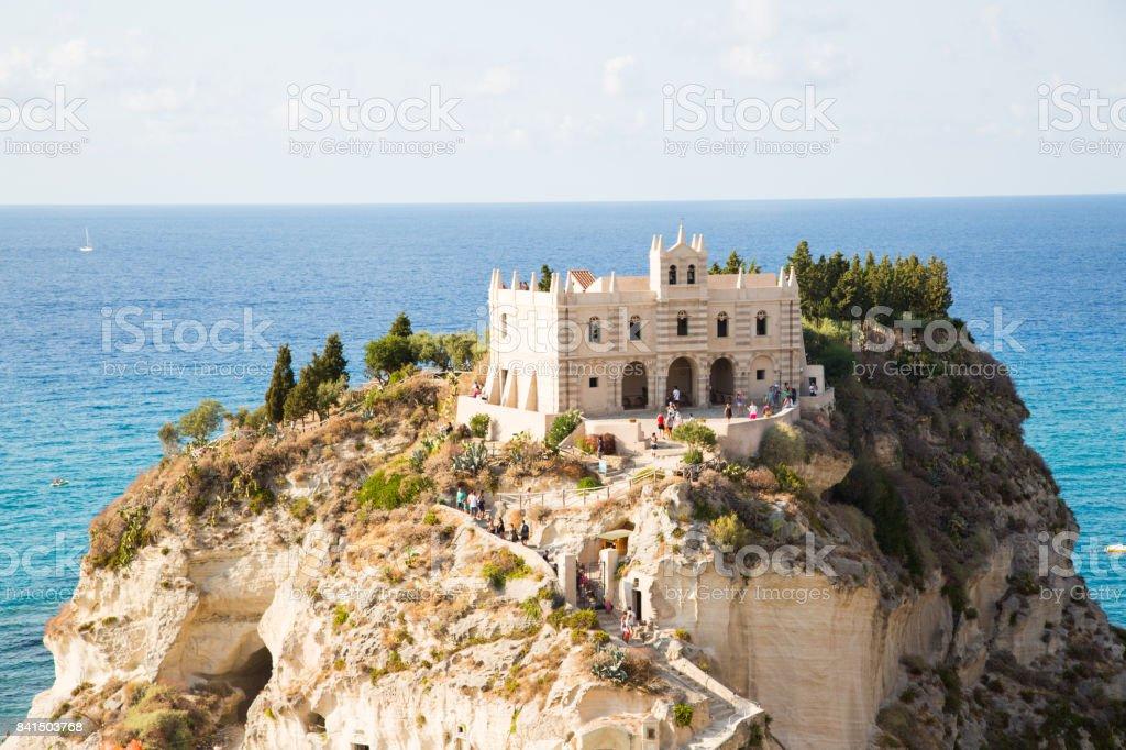 Santa Maria dell'Isola stock photo
