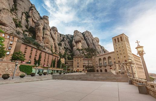 Santa Maria der Montserrat Monastery Catalonia
