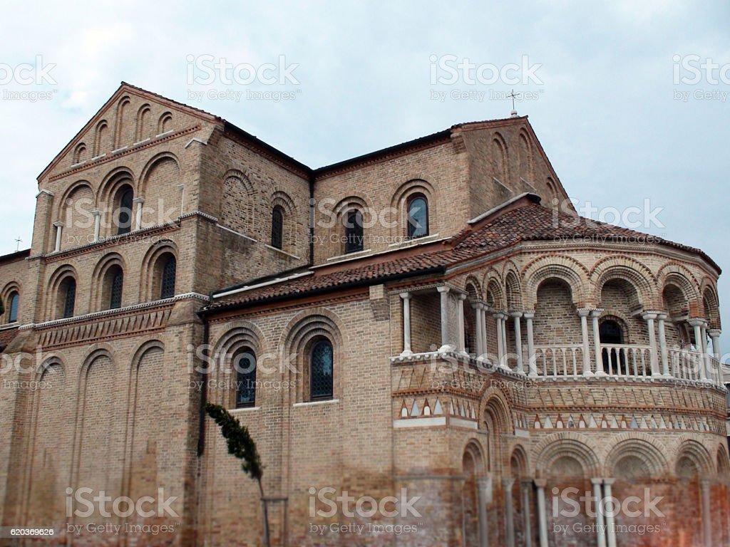 Santa Maria E San Donato In Murano Venice Italy.Europe foto de stock royalty-free