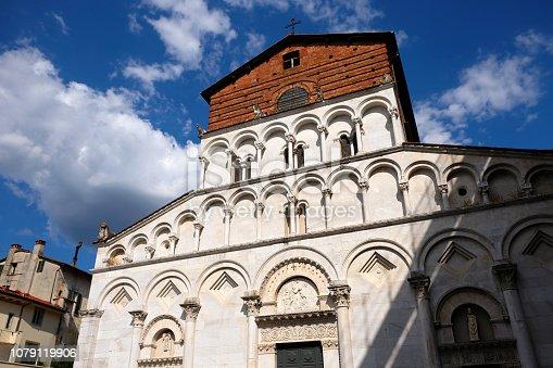 Santa Maria Forisportam, also called Santa Maria Bianca, is a Romanesque-style, Roman Catholic church located on piazza Santa Maria Bianca in Lucca, region of Tuscany, Italy.