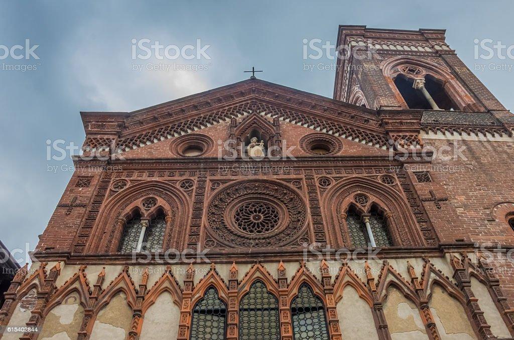 Santa Maria in Strada church, Monza, Lombardy, Northern Italy. stock photo