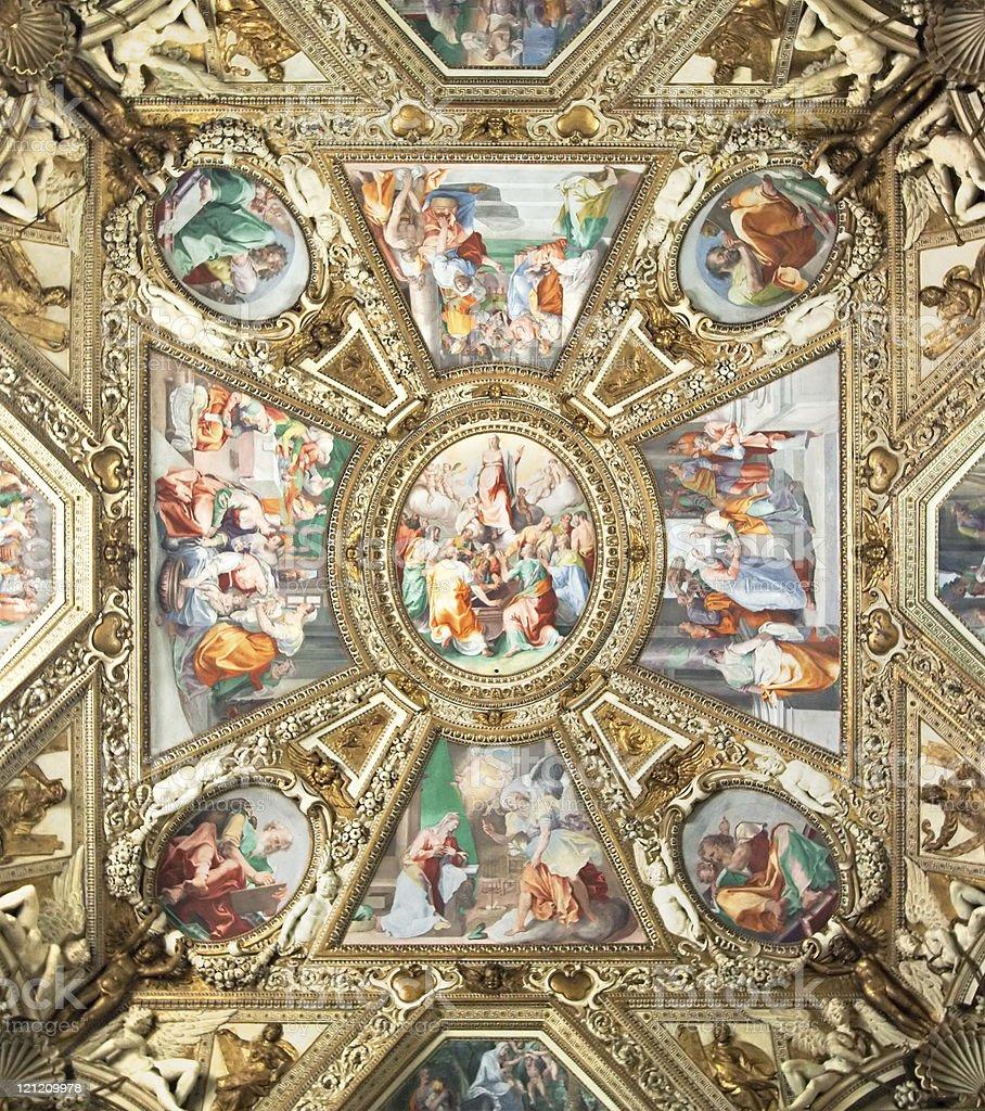 Chiesa di Santa Maria in Trastevere - foto stock