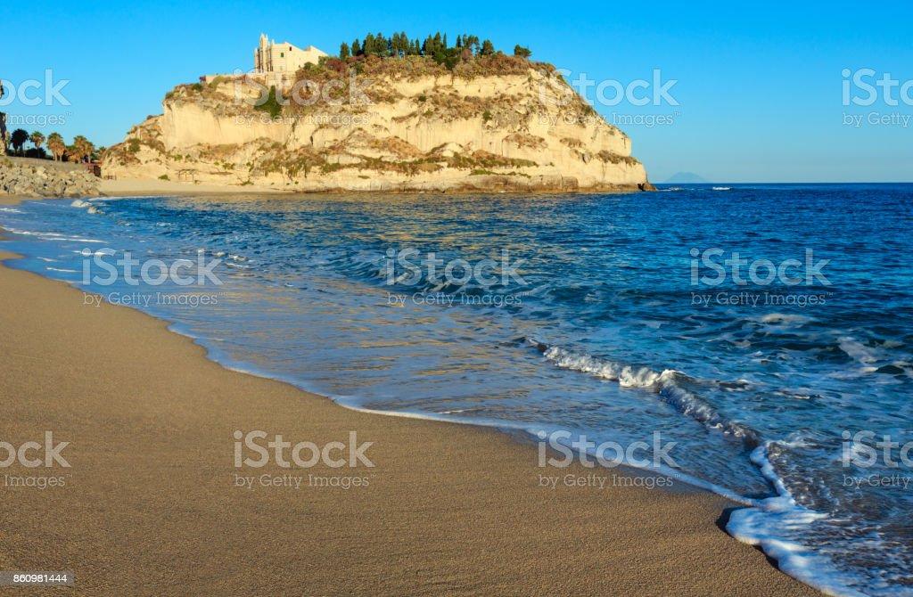 Santa Maria Island - Tropea, Calabria, Italy stock photo