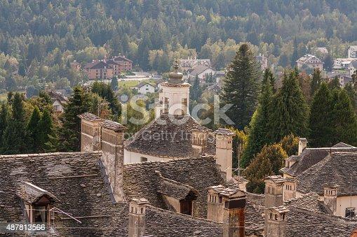 istock Santa Maria Maggiore, Val Vigezzo, Verbania, Italia 487813566