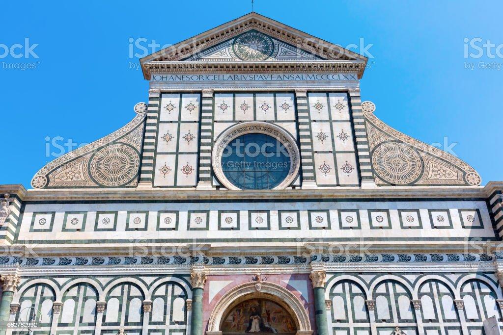 Santa Maria Novella in Florence, Italy stock photo
