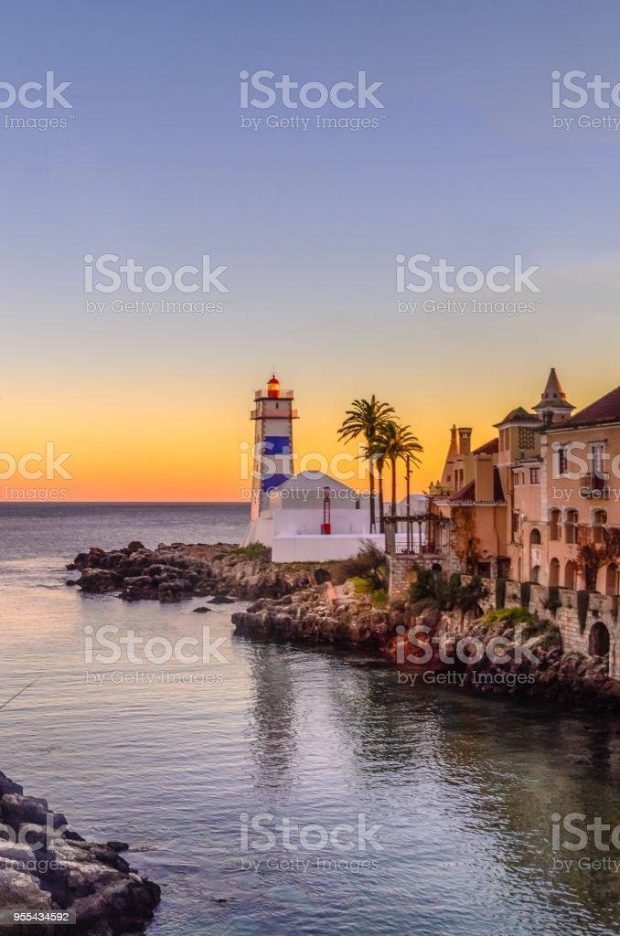 Santa Marta Lighthouse stock photo