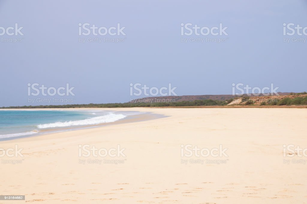 Santa Monica Beach - foto stock
