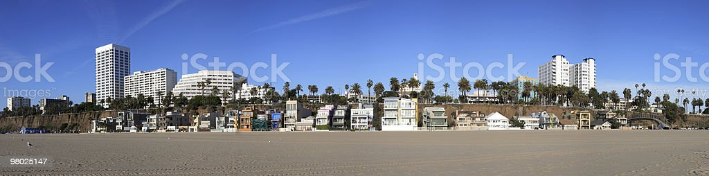Santa Monica, CA royalty-free stock photo