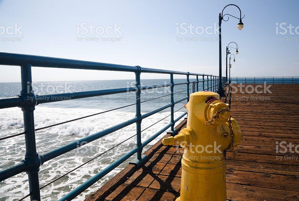 Santa Monica Pear royalty-free stock photo