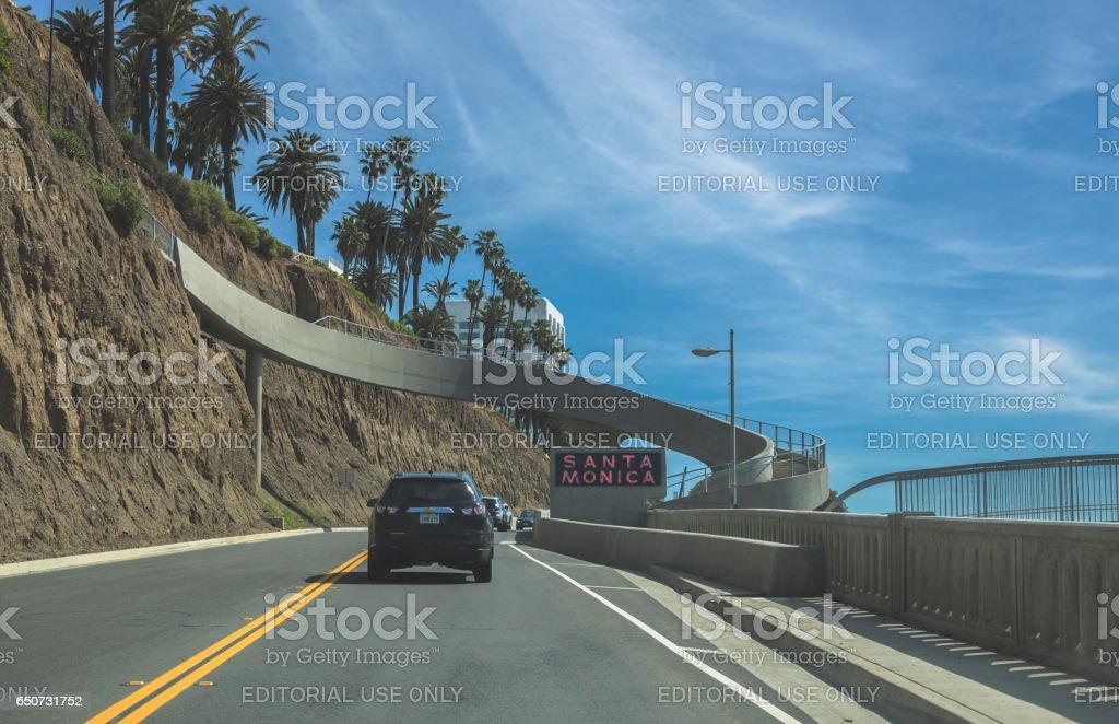 Santa Monica stock photo