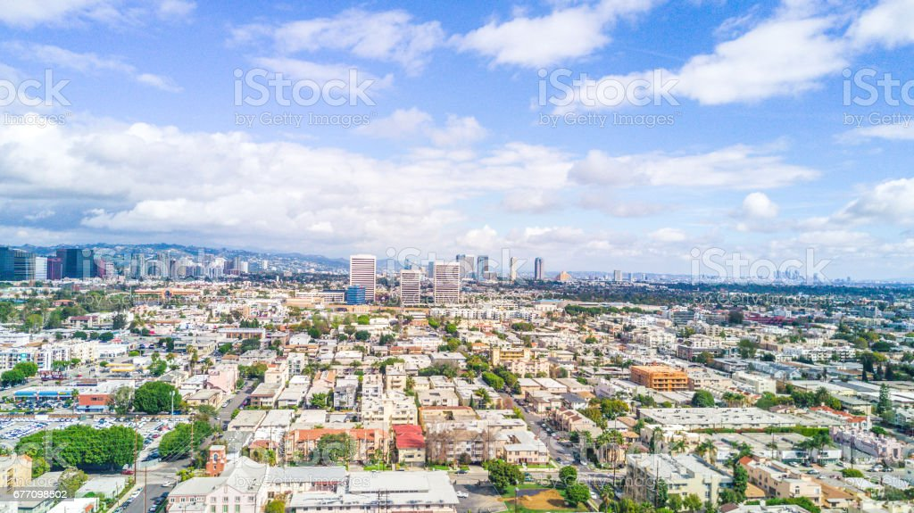 Santa Monica, Southern California stock photo