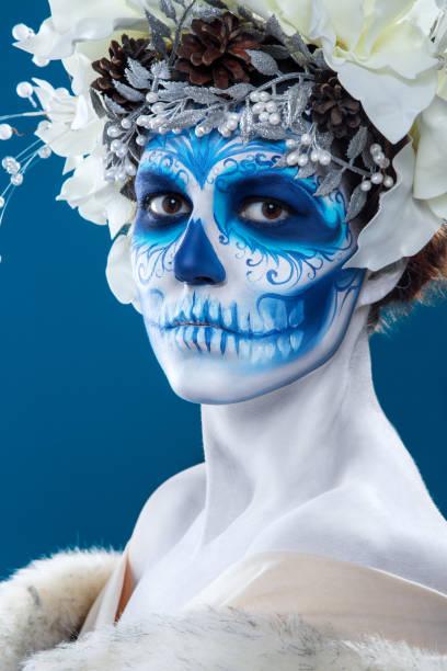 Santa Muerte Tattoo Stock Photos, Pictures & Royalty-Free